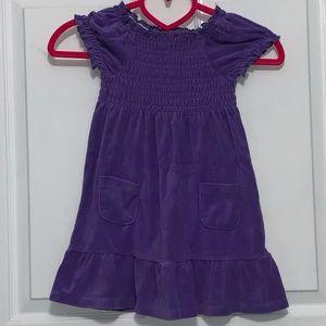 Girl's terry dress